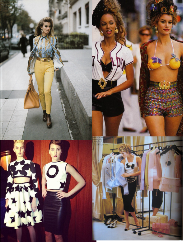 The Trend For Fashion Now: Now And Then: 90's Inspired Fashion Trend